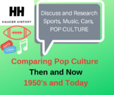 Compare and Contrast American Pop Culture 1950s and Modern Day