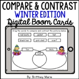 Compare and Contrast BOOM Cards Winter Edition