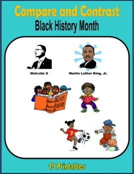 Compare and Contrast (Black History Month)