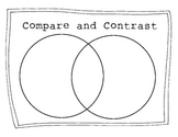 Compare and Contrast Blank Venn Diagram