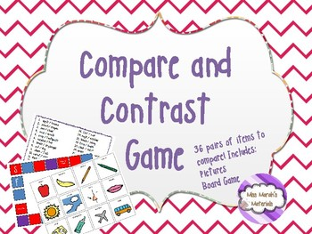 Compare and Contrast Board Game