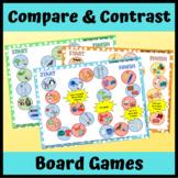 Compare and Contrast Board Games for Language- No Prep!