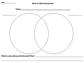 Compare and Contrast Book vs. Movie
