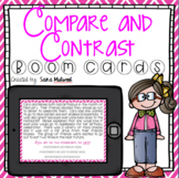 Compare and Contrast Boom Cards    Distance Learning