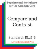 Compare and Contrast (CCSS RL.5.3)