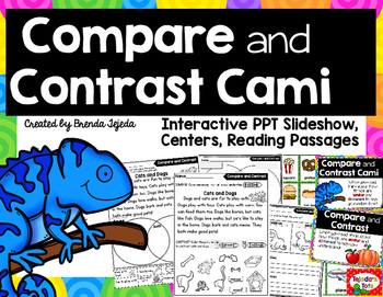 Compare and Contrast Cami Chameleon: Comprehension Strategy Bundle