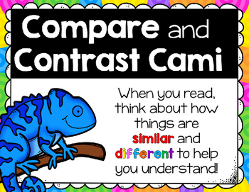 Compare and Contrast Cami Chameleon
