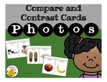 Compare and Contrast Cards: Photo
