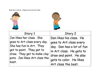 Compare and Contrast Center #4