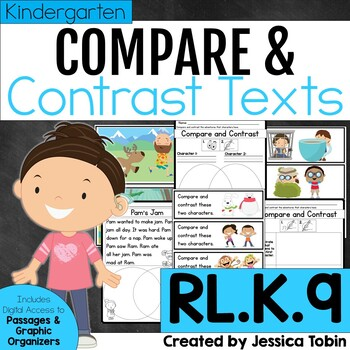 Compare and Contrast Character Experiences RLK.9