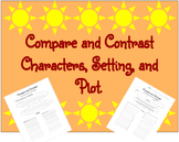Compare and Contrast Characters, Setting, and Plot.