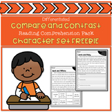 Compare and Contrast: Characters in a Story Freebie