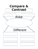 Compare and Contrast Chart