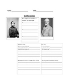 Compare and Contrast Civil War Generals