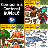 Compare and Contrast Clip Art BUNDLE