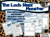 Compare and Contrast Close Reading Lesson The Loch Ness Monster