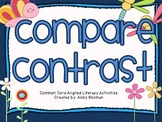 Compare and Contrast - Common Core Aligned Literacy Activities
