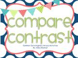 Compare and Contrast - Common Core Aligned Literacy Activi