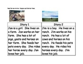 Compare and Contrast Comprehension Center #2