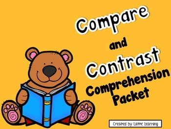 Compare and Contrast Comprehension Packet - Bears
