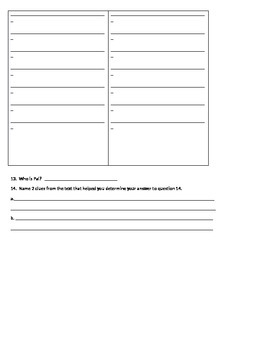Compare and Contrast Comprehension Questions Using 2 Arthur Texts