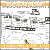 Compare and Contrast Differentiated Paired Passages
