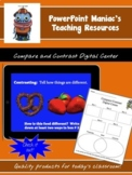 Compare and Contrast Digital Center and Google Classroom File