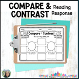 Compare and Contrast :  Double Bubble Graphic Organizer : Reading Response