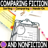 Comparing Fiction and Non-Fiction Worksheets