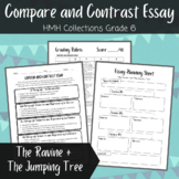 """Compare and Contrast Essay- """"The Ravine"""" and """"The Jumping Tree"""" HMH Collections"""