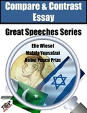 Compare and Contrast Essay Elie Wiesel Malala Yousafzai Nobel Peace Speech