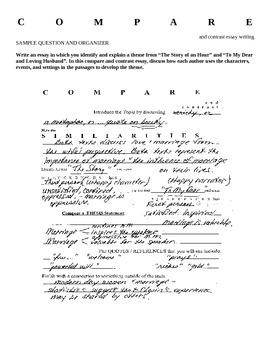 Compare and Contrast Essay Handouts