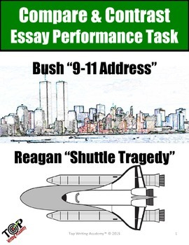 Compare and Contrast Essay Informational Text Bush 9-11 Re