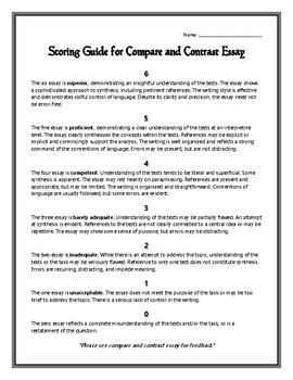 Sample English Essay  High School Senior Essay also Term Papers And Essays Compare And Contrast Essay Othello And The Count Of Monte Cristo Sample Thesis Essay