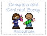 Compare and Contrast Essay Outline, Checklist, Rubric
