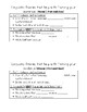 Compare and Contrast Essay Resource Packet - Test Prep Resource