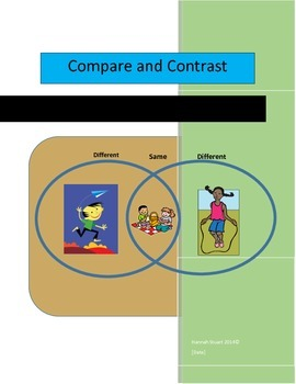 Compare and Contrast High Interest Packet, ELA, Common Core Friendly