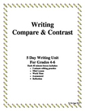 Compare and Contrast Essay Writing Grades 4,5,6