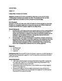 Compare and Contrast Essay/ double bubble