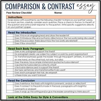 Buy Compare and Contrast Essay - Fresh Essays