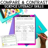 Compare and Contrast FREE Science Activity
