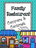 Compare and Contrast Family Restaurant Journals