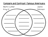 Compare and Contrast Famous Americans