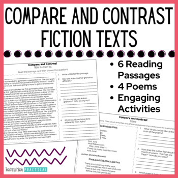 Compare and Contrast: Fiction Activities
