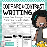 Compare and Contrast Fiction Reading Response Essay Writing Unit