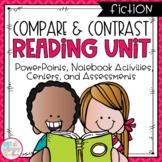 Compare and Contrast Fiction Reading Unit With Centers