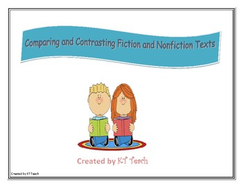 Compare and Contrast Fiction and Nonfiction Texts