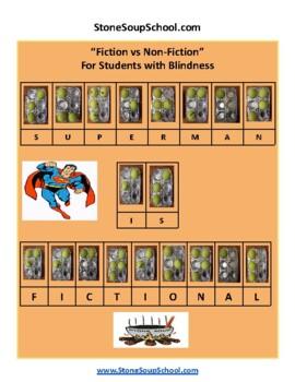 K - 2 Compare and Contrast Fiction vs Nonfiction - Medical Disabilities - ESSA