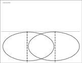 Compare and Contrast Foldable Venn Diagram