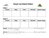 Compare and Contrast Folktales Organizer